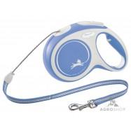Nyörillinen kelatalutin Flexi Comfort XS (8kg) sininen 3m