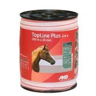 Elektrikarjuse taralint AKO TopLine Plus 20 mm/200 m