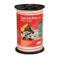 Sähköpaimenen aitanauha TopLine Plus 10mm 200m
