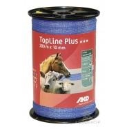Sähköpaimenen aitanauha TopLine Plus 10mm/200m